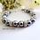 Thumbnail: Swarovski Pearl and Pave Crystal Clasp Wedding Bracelet