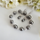 Thumbnail: Swarovski Pearl and Crystal Wedding Bracelet and Earrings Set