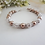 Thumbnail: Swarovski Pearl and Crystal Pave Clasp Wedding Bracelet