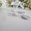 Thumbnail: Teardrop Pearl Crystal Pave Bridal Earrings BRER4010