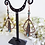 Thumbnail: Long Hammered Antique Copper Teardrop Patina Earrings