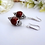 Thumbnail: Pearl and Crystal Drop Bridal Earrings BRER4015