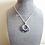 Thumbnail: Sapphire Cubic Zirconia Pendant Necklace BRNK6014