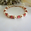 Thumbnail: Pearl and Rose Crystal Clasp Bracelet BRTHBR1012
