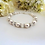 Thumbnail: Pearl and Crystal Clasp Bridal Bracelet BRPL3013