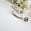 Thumbnail: Pearl and Crystal Hoop Wedding Earrings BRER4021