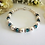 Thumbnail: Pearl and Blue Zircon Crystal Bracelet BRTHBR1015
