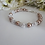 Thumbnail: Pearl and Crystal Pave Clasp Wedding Bracelet BRPL3015