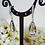 Thumbnail: Grey Crystal Teardrop Necklace and Earrings BRNKST5022