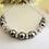 Thumbnail: Swarovski Pearl and Crystal Pave Collar Bridal Necklace