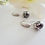 Thumbnail: Cubic Zirconia and Pearl Drop Earrings BRER4043