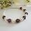 Thumbnail: Pearl and Amethyst Crystal Clasp Birthstone Bracelet BRTHBR1006