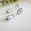 Thumbnail: Swarovski Pearl and Cubic Zirconia TearDrop Bridal Earrings