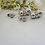 Thumbnail: Pearl and Crystal Pave Stud Earrings BRER4046