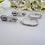 Thumbnail: Teardrop Pearl and Crystal Hoop Bridal Earrings BRER4030