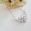 Thumbnail: Cubic Zirconia Marquise Drop Wedding Earrings BRER4039