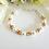 Thumbnail: Pearl and Topaz Crystal Clasp Bracelet BRTHBR1013