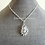 Thumbnail: Marquise Cubic Zirconia Pendant Necklace and Earrings Set  BRNKST5021