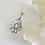Thumbnail: Cubic Zirconia Marquise Cluster Teardrop Pendant Wedding Necklace