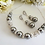 Thumbnail: Pearl and Crystal Pave Collar Bridal Necklace BRNK6002