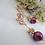 Thumbnail: Swarovski Pearl and Cubic Zirconia Crystal Gold Wedding Earrings
