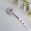 Thumbnail: Crystal Baguette Bridal Hair Pins HRACC8010