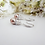 Thumbnail: Swarovski Pearl and Crystal Pave Drop Wedding Earrings