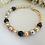 Thumbnail: Ivory Pearl Family Birthstone Clasp Bracelet MBR9003