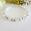 Thumbnail: Pearl and Crystal Clasp Wedding Bracelet BRPL3009