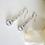 Thumbnail: Cubic Zirconia Long Teardrop Wedding Earrings BRER4024