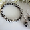 Thumbnail: Grey Pearl and Crystal Pave Drop Earrings BRER4012