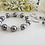 Thumbnail: Pearl and Crystal Wedding Bracelet Set BRSTPL2009