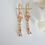 Thumbnail: Cubic Zirconia Bridal Necklace and Earrings Set BRNKST5009
