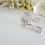 Thumbnail: Cubic Zirconia Marquise Teardrop Bridal Earrings BRER4038
