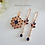Thumbnail: Sapphire Cubic Zirconia Bridal Necklace Set BRNKST5014