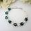 Thumbnail: Swarovski Pearl and Emerald Crystal Clasp Birthstone Bracelet