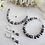 Thumbnail: Pearl and Crystal Pave Rondelle Collar Necklace BRNK6005