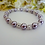 Thumbnail: Pearl and Crystal Wedding Bracelet BRPL3020