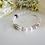 Thumbnail: Swarovski Pearl Family Birthstone Clasp Bracelet