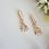 Thumbnail: Cubic Zirconia Bridal Necklace and Earrings Set BRNKST5013