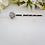 Thumbnail: Crystal Flower Bridal Hair Pins HRACC8010