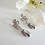 Thumbnail: Teardrop Pearl and Crystal Earrings BRER4047