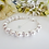 Thumbnail: Pearl and Crystal Clasp Bridal Bracelet BRPL3014