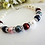 Thumbnail: Mothers Family Birthstone Clasp Bracelet MBR9001