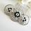 Thumbnail: Crystal Art Deco Wedding Hair Comb HRACC8004