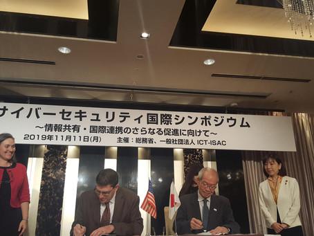 IT-ISAC Formalizes Operational Partnership with ICT-ISAC Japan