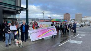GLBTI+ VIGIL PROTEST - HOBART - SATURDAY 4 SEPTEMBER 2021