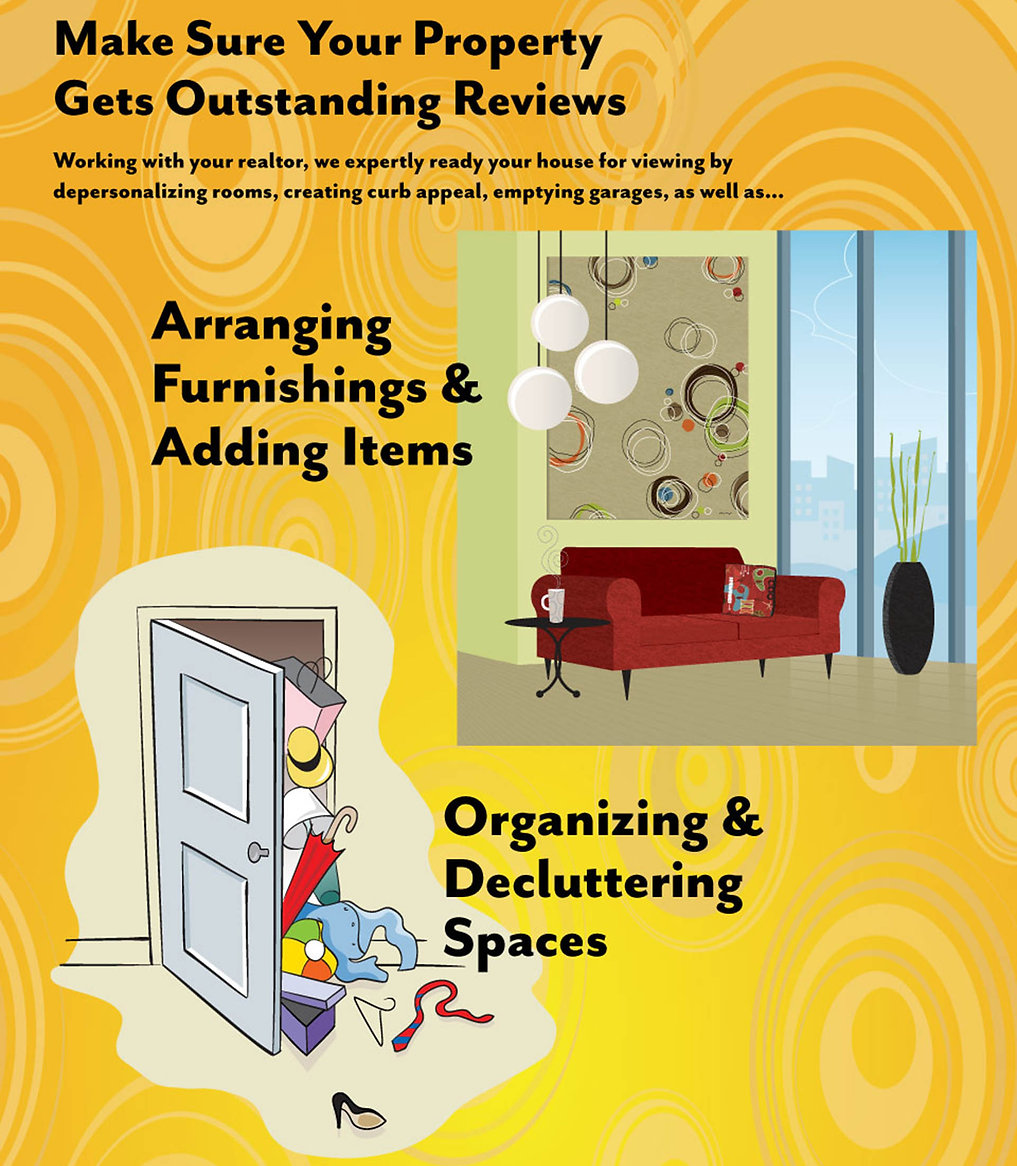 StagingAndBeyond.com/HomeStaging:Declutterin