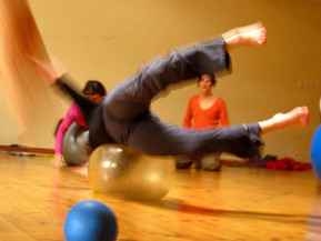 Stage Danse Contact Improvisation et BMC® à St-Julien-Molin-Molette