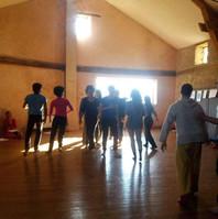 Stage de Body-Mind Centering® à Montrottier - Monts du Lyonnais